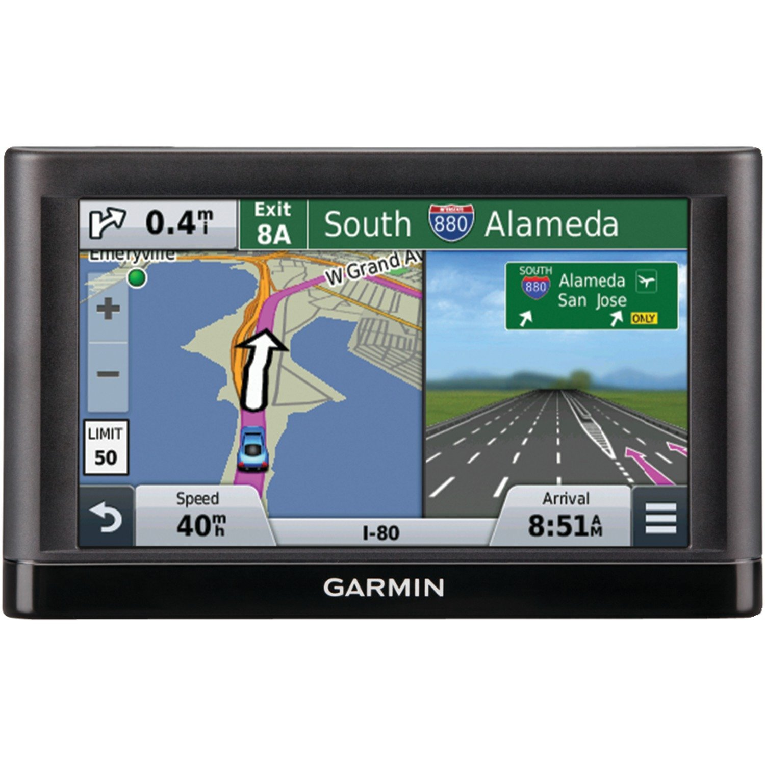 Garmin nüvi 55LMT GPS Navigators System with Spoken Turn-By-Turn Directions, Preloaded Maps