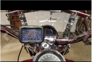Garmin Zumo 390 LM motorcyle gps unit