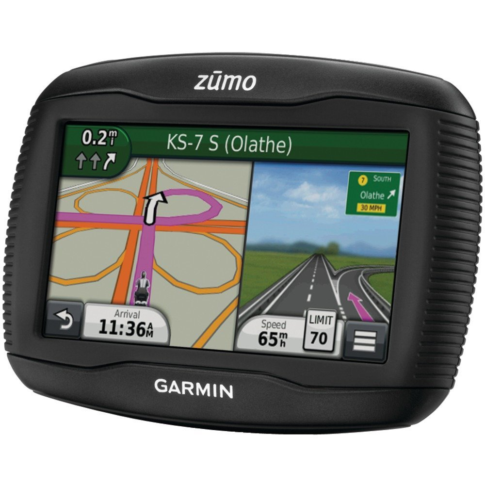 garmin zumo 350 lm review