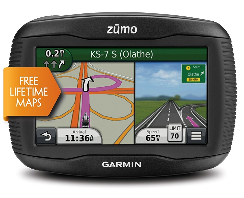 Garmin Zumo 390 LM features